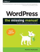 Pdf WordPress: The Missing Manual Telecharger