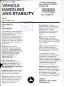Vehicle Handling and Stability Book