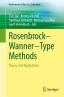 Rosenbrock   Wanner   Type Methods