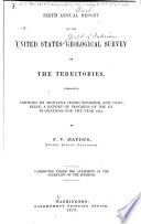 Annual Report of the United States Geological and Geographical Survey of the Territories