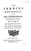 L'Éducation: poëme, en quatre discours. [By J. Cuers de Cogolin; or rather by P. Simon de Calvi?]