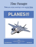 Coloring Book for Adults Planes and Helos