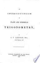 An Introduction to Plane and Spherical Trigonometry