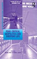 Fear: Critical Geopolitics and Everyday Life Pdf/ePub eBook