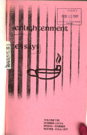 Enlightenment Essays Book