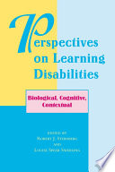 Perspectives On Learning Disabilities