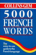 5,000 French Words