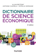 Pdf Dictionnaire de science économique - 6e éd. Telecharger