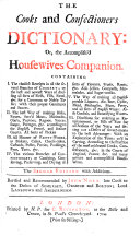 Pdf The Cooks and Confectioners Dictionary