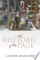 The Rhetoric of the Page