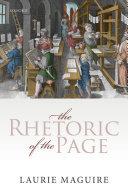 The Rhetoric of the Page Pdf/ePub eBook