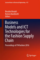 Business Models and ICT Technologies for the Fashion Supply Chain [Pdf/ePub] eBook