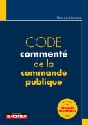 Pdf Code commenté de la commande publique Telecharger