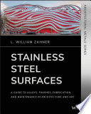 Stainless Steel Surfaces Book