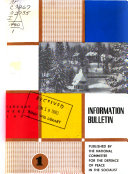 Information Bulletin   National Committee for the Defense of Peace in the Socialist Republic of Romania