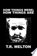 How Things Were How Things Are Book PDF