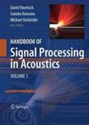 Handbook of Signal Processing in Acoustics Book