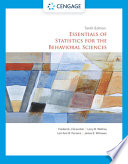 Essentials of Statistics for the Behavioral Sciences (with APA Card)
