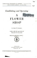 Establishing and Operating a Flower Shop