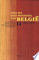 Nieuwe Geschiedenis Van Belgi 1905 1950