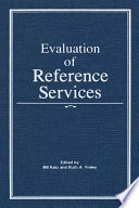 Evaluation Of Reference Services