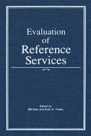 Evaluation of Reference Services [Pdf/ePub] eBook