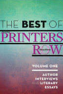 The Best of Printers Row  Volume One