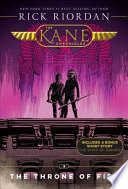The Kane Chronicles, Book Two The Throne of Fire (new cover)