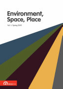 Environment, Space, Place - Volume 1, Issue 1 (Spring 2009)
