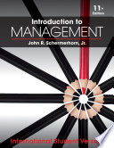 Introduction To Management Book