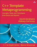 C++ Template Metaprogramming: Concepts, Tools, and Techniques from ...