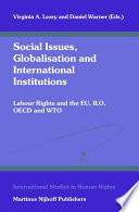 Social Issues Globalisation And International Institutions