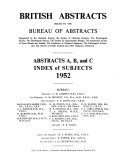 British Abstracts Book
