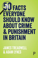 50 Facts Everyone Should Know about Crime   Punishment