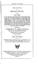 Hearings on Military Posture and H R  12604 to Authorize Appropriations During the Fiscal Year 1973 for Procurement of Aircraft  Missiles  Naval Vessels  Tracked Combat Vehicles  Torpedoes