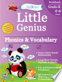 Phonics & Vocabulary II: Kindergarten Workbook (Little Genius Series)