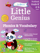 Phonics   Vocabulary II  Kindergarten Workbook  Little Genius Series