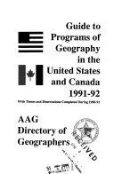 AAG directory of geographers