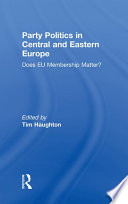Party Politics In Central And Eastern Europe