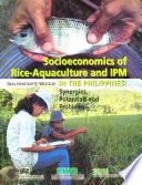 Socioeconomics Of Rice Aquaculture And Ipm In The Philippines