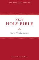 NKJV, Holy Bible New Testament, Paperback, Comfort Print