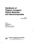 Handbook of Organic inorganic Hybrid Materials and Nanocomposites  Nanocomposites Book