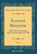 Illinois Register  Vol  14