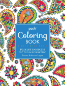 Posh Adult Coloring Book  Paisley Designs for Fun   Relaxation Book