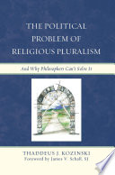 The Political Problem Of Religious Pluralism