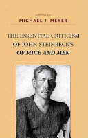 The Essential Criticism of John Steinbeck's of Mice and Men Pdf/ePub eBook