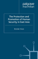 The Protection and Promotion of Human Security in East Asia