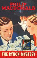 The Rynox Mystery  Detective Club Crime Classics