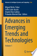 Advances in Emerging Trends and Technologies