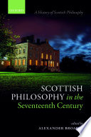 Scottish Philosophy in the Seventeenth Century